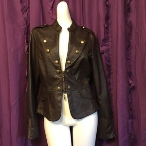 Steampunk Military Style Jacket